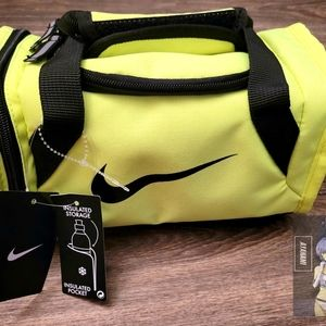 Nike Deluxe Mini Duffle Insulated Tote Lunch Box